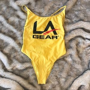 LA Gear one piece swimsuit